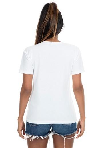 Mint Tişört Beyaz